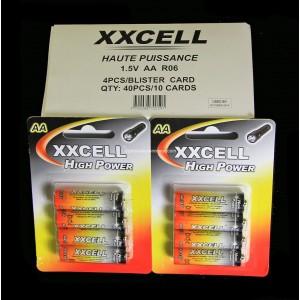 Boite X10 blisters de X4  LR06 AA