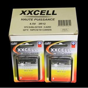 Boite X10 blisters de X1 Pile 4.5V