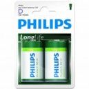 "Pile Phillips 1.5V - D-LR20 ""LongLife"""