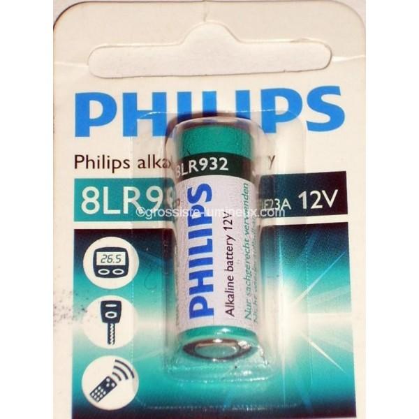 Piles alcalines phillips 12v 23a 8lr932 accessoires - Pile 12v 23a ...