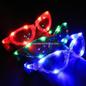 "Lunettes Lumineuses Adultes ""Style Festif"""